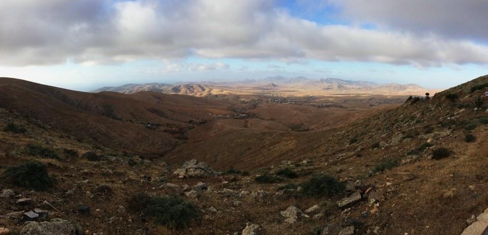 Antigua desde el Mirador de los Reyes Guise y Ayose Isla de  Fuerteventura panoramica 146