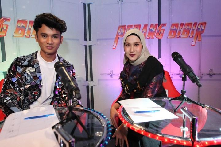 Raja Lip Sync Ucop dan Amy Mastura tampil sebagai juri