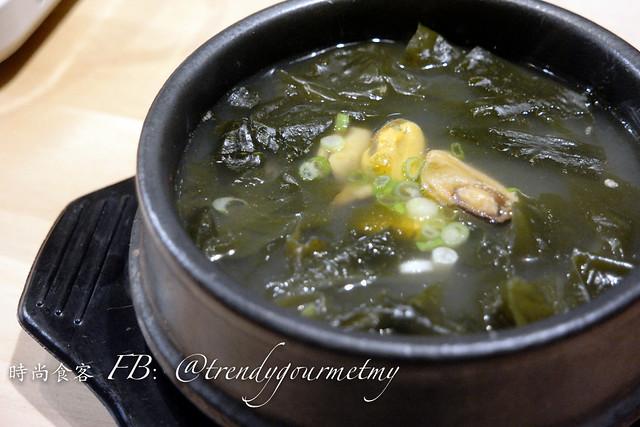 Mussel Seaweed Soup