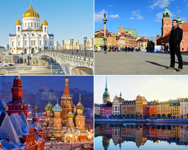 Ruta por Europa del Este y sus capitales