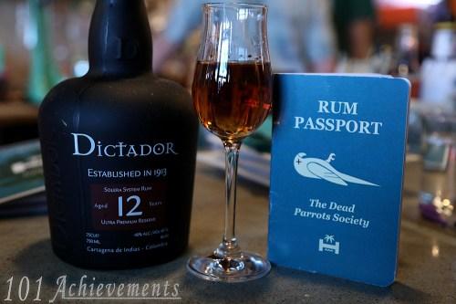 Rum Passport