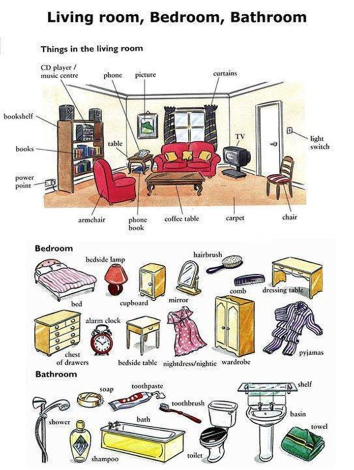 Things for living room