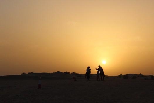 El desierto de Dubai