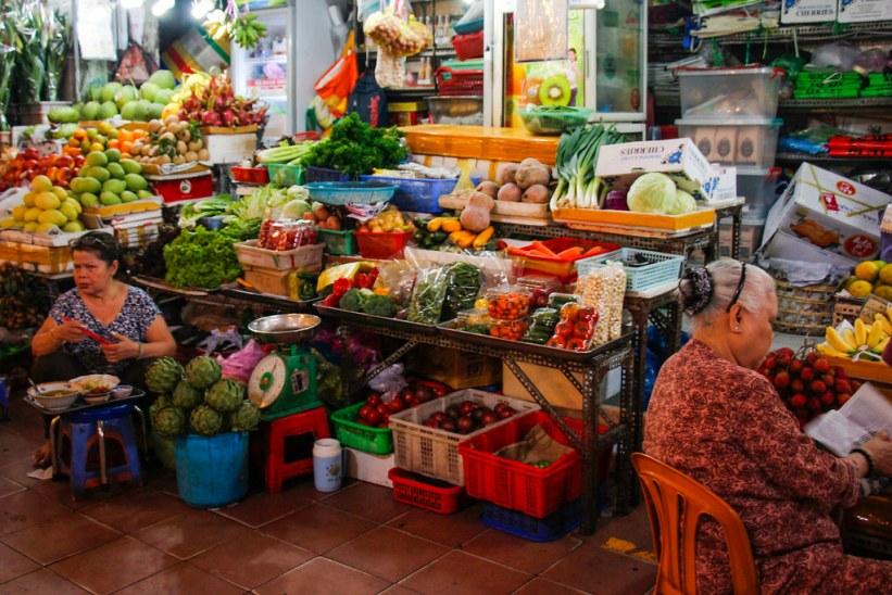 Ben Thanh market i Ho Chi Minh City - Saigon