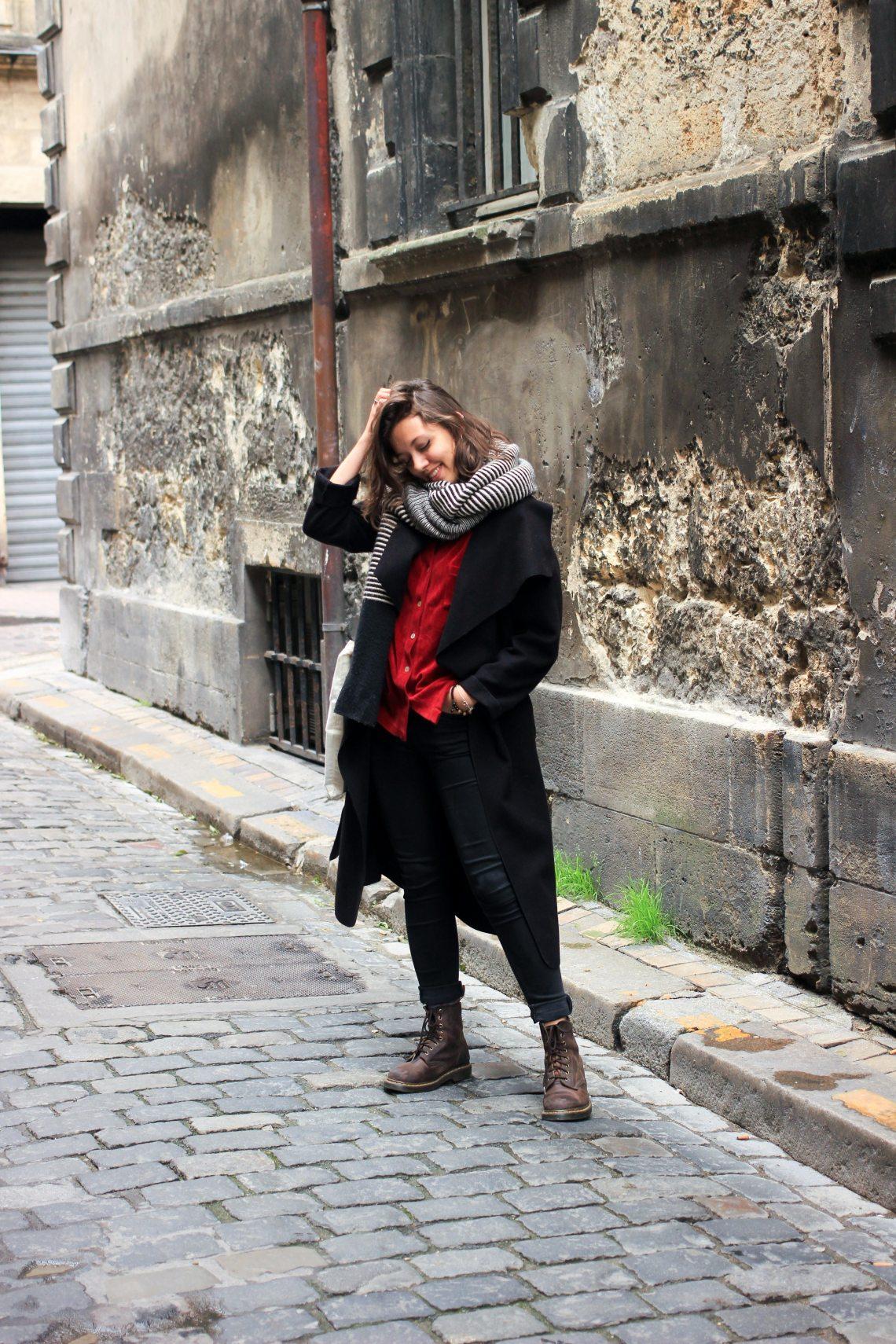 10-tenue-noir-chemise-rouge-vintage