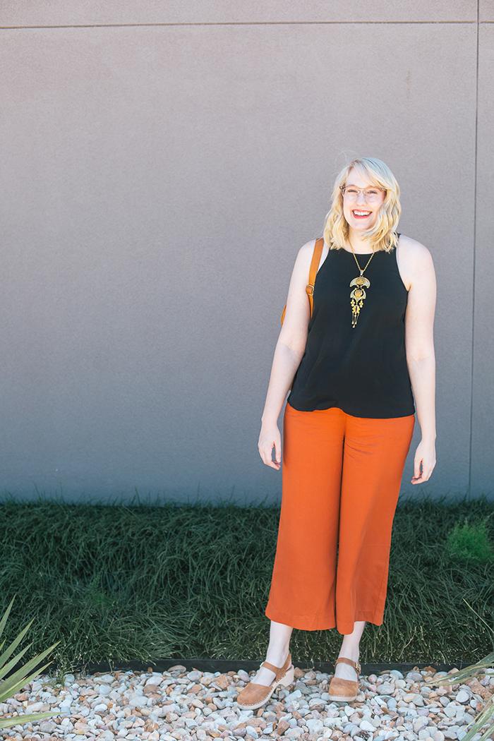 austin fashion blogger writes like a girl old navy culottes13