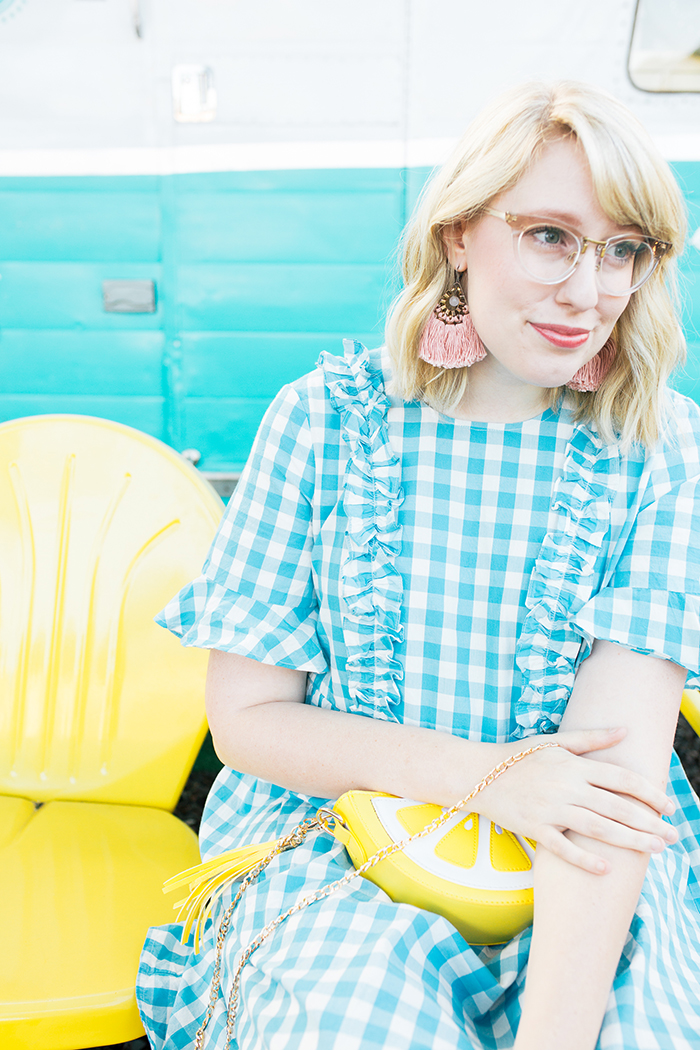 austin fashion blogger writes like a girl gingham asos dress13