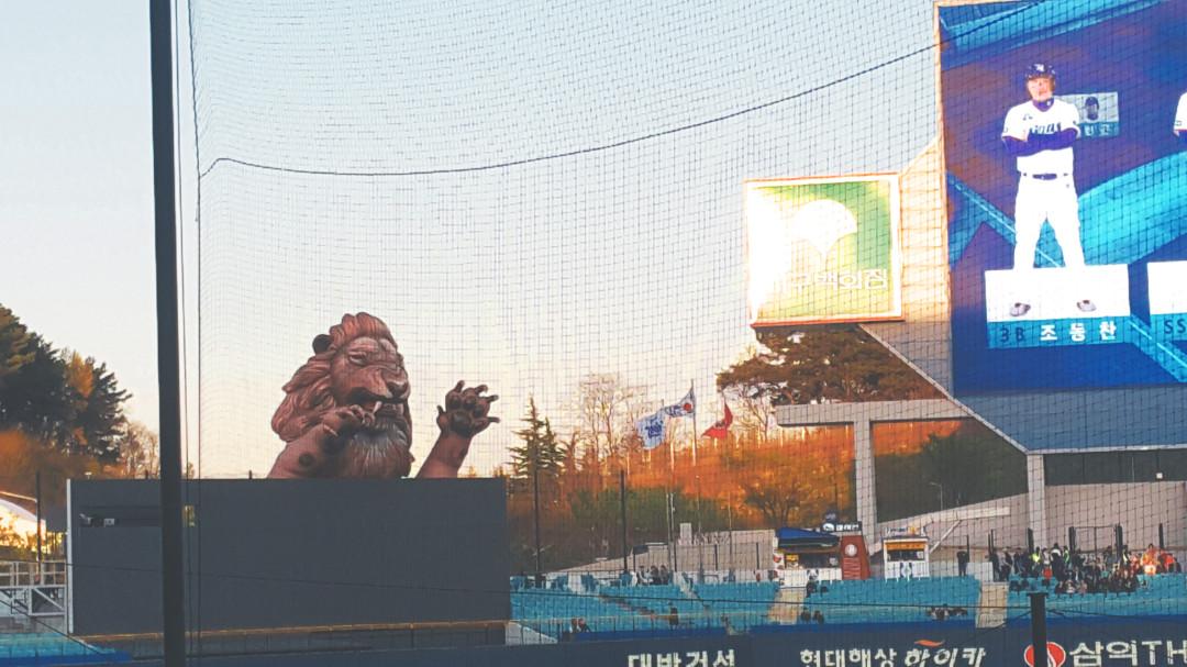 daegu // samsung lions baseball game