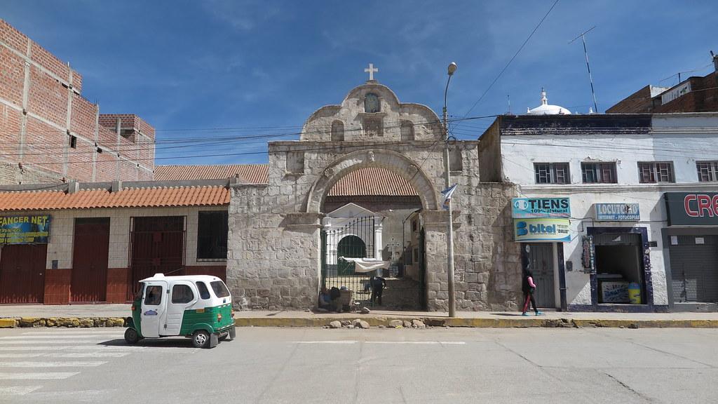 Templo San Miguel Arcángel, en Ilave, de la Prelatura de Juli
