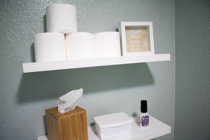 Bathroom Shelfie