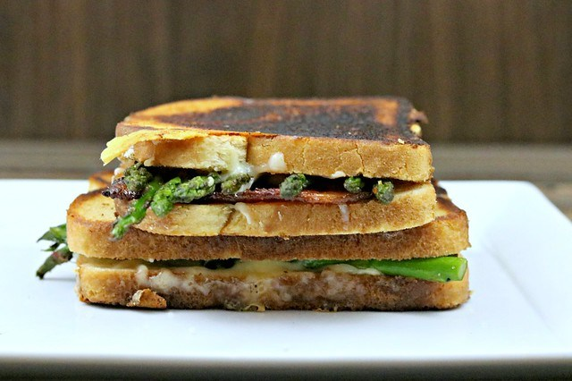 Asparagus Grilled Cheese Side