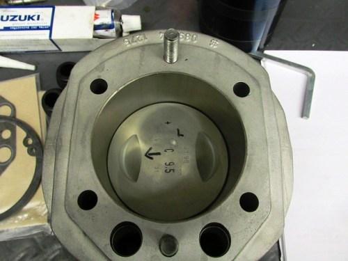 Piston Installed in Cylinder