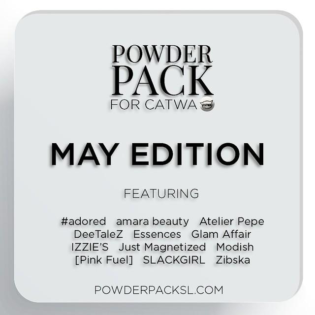 Powder Pack Catwa May Edition