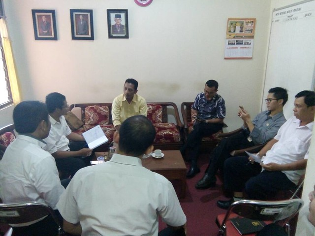 Rapat Pleno KPU Kabupaten Tulungagung (9/5)