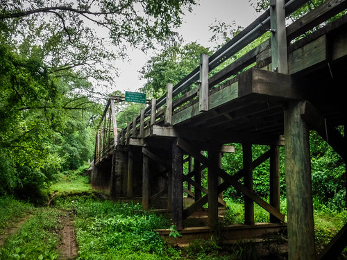 Patterson Steel Truss Bridge on Long Cane Creek-003