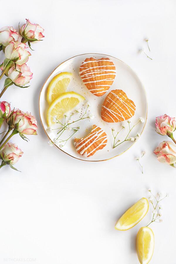 Lemon Madeleines // bethcakes.com