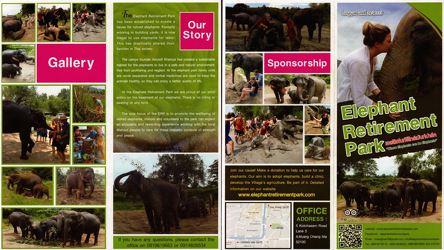 Elephant Retirement Park Chiang Mai Thailand Brochure 1