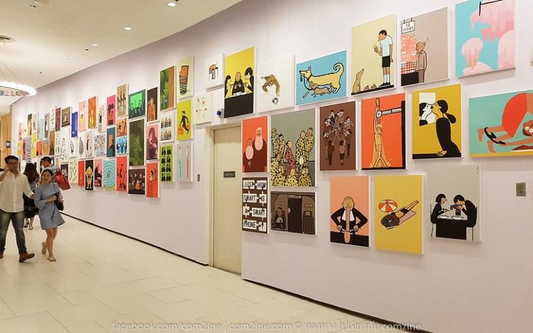 4ฌอง จูเลียง - The People งานศิลป์สนุก สะท้อนยุคโมเดิร์นไลฟ์
