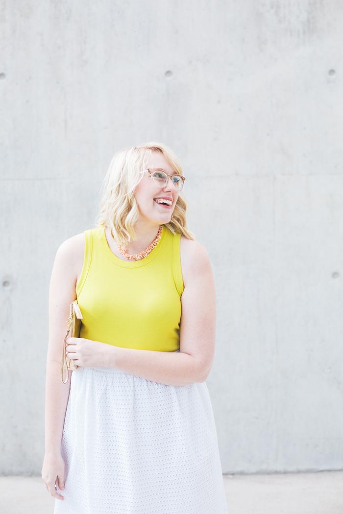 austin fashion blogger writes like a girl white eyelet skirt5