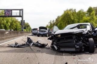 Verkehrsunfall A5 Friedrichsdorf