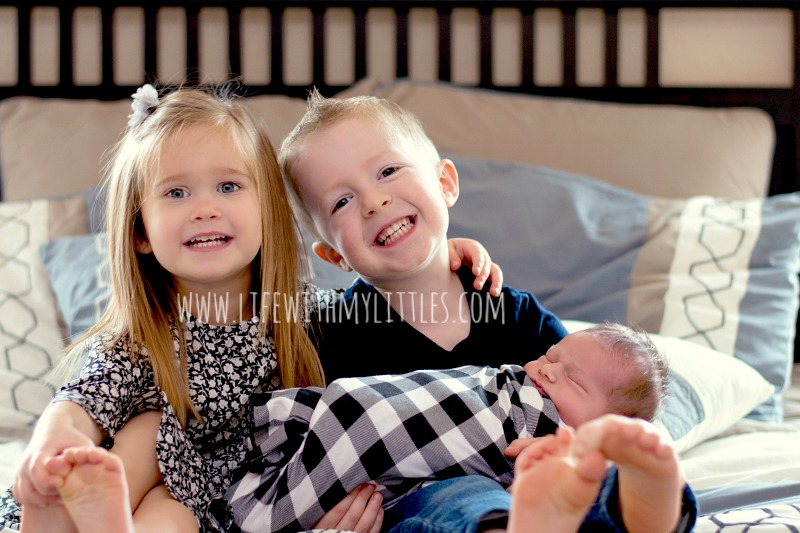 If you're about to bring a new baby home, this post is for you! It's all about how to prepare older siblings for the birth of a baby, and it's perfect for second-time moms!