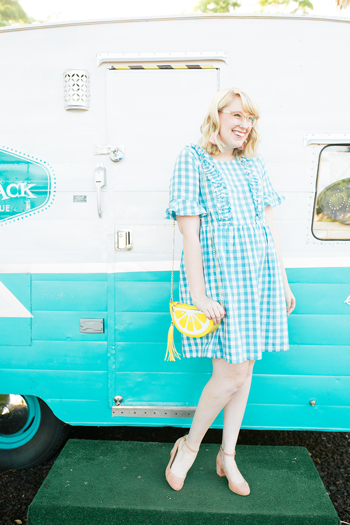 austin fashion blogger writes like a girl gingham asos dress6