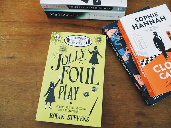Jolly Foul Play by Robin Stevens | Hola Darla