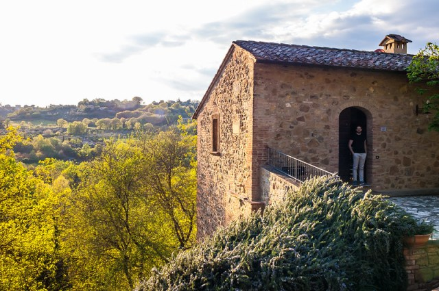 Our apartment in Montepulciano
