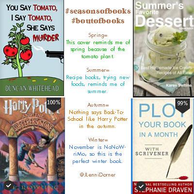 #seasonsofbooks #boutofbooks @JLenniDorner