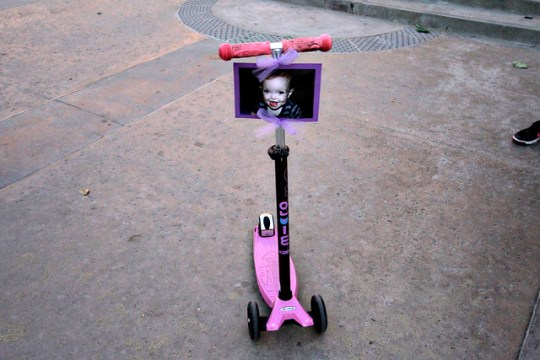 Scooting for Maddie