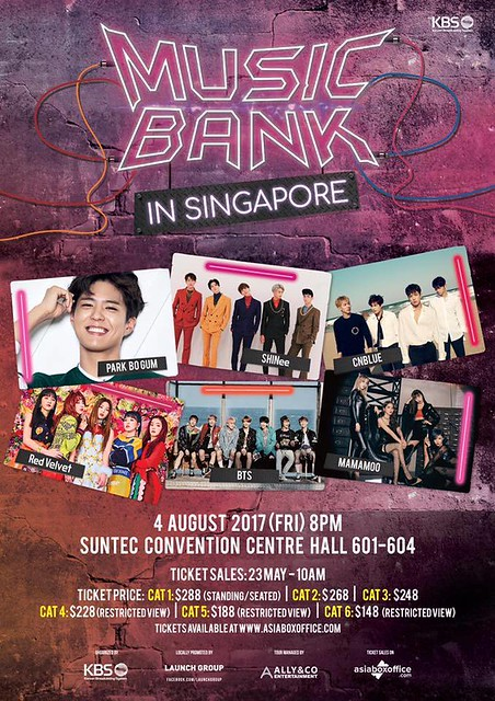 Music Bank World Tour in Singapore