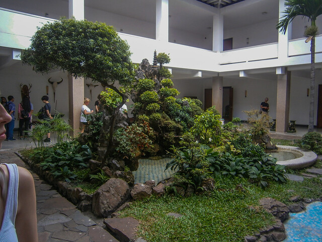 Foreign Dignitaries' Quarters Courtyard