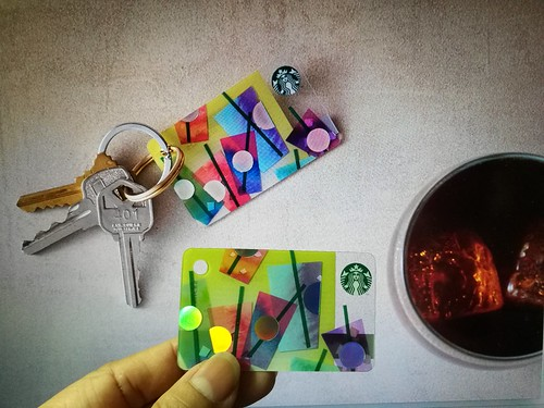 Starbucks Mini Chill card