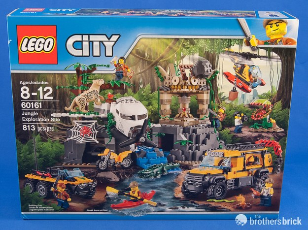 Off for adventure with LEGO City 60161 Jungle Exploration Site ...