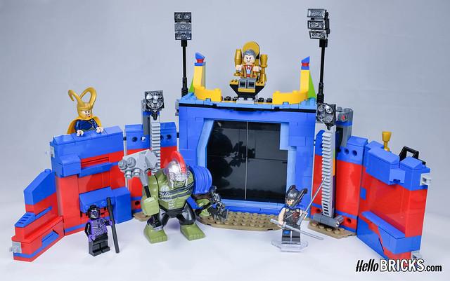 LEGO 76088 - Thor VS Hulk