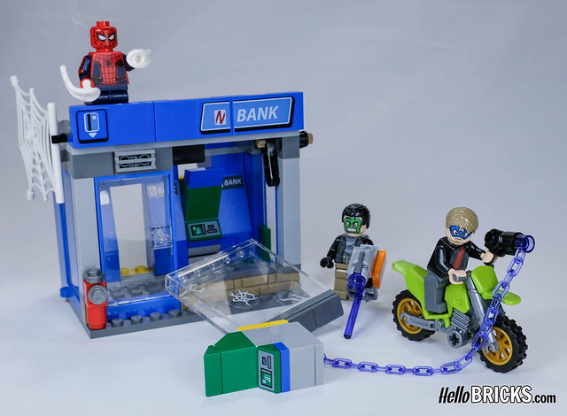 LEGO 76082 - Spiderman Homecoming - ATM Heist Attack