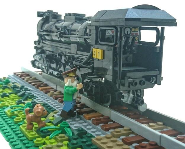 Texas 2-10-4 configuration locomotive.