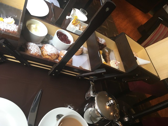 Afternoon Tea and The Cavendish