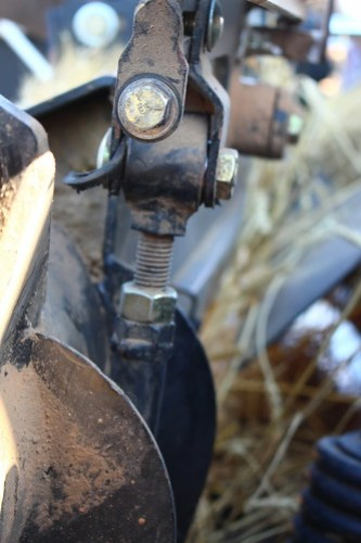 Found a bushing out on the header.
