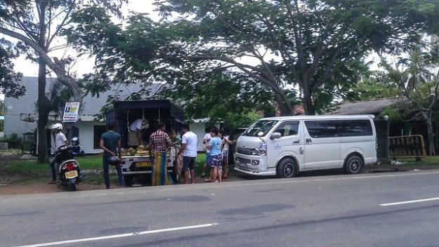 Local Durian Vendor