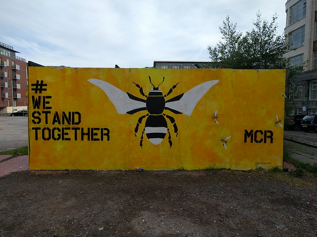 We stand together, manchester