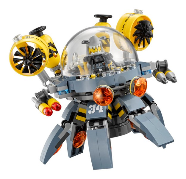 70610 Flying Jelly Sub