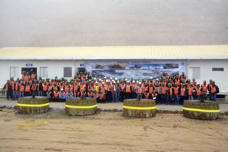Seguridad y producción van de la mano en Operaciones Mina.