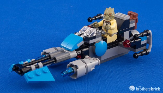 75167 Bounty Hunter Speeder Bike