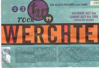 Rock Werchter 99