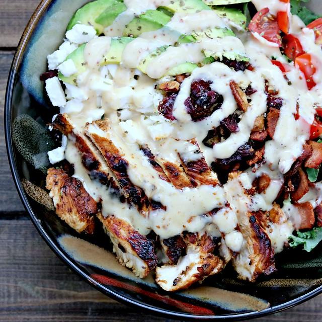 chicken blt salad top sq
