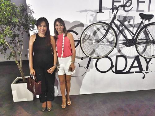 With Christine Jacob