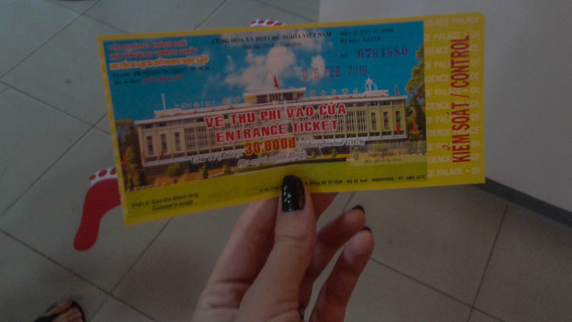 Palace Ticket