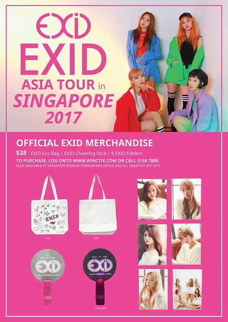 EXID Asia Tour in Singapore Merch