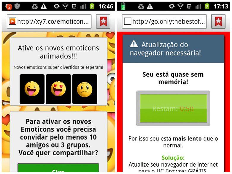 penipuan whatsapp emoji
